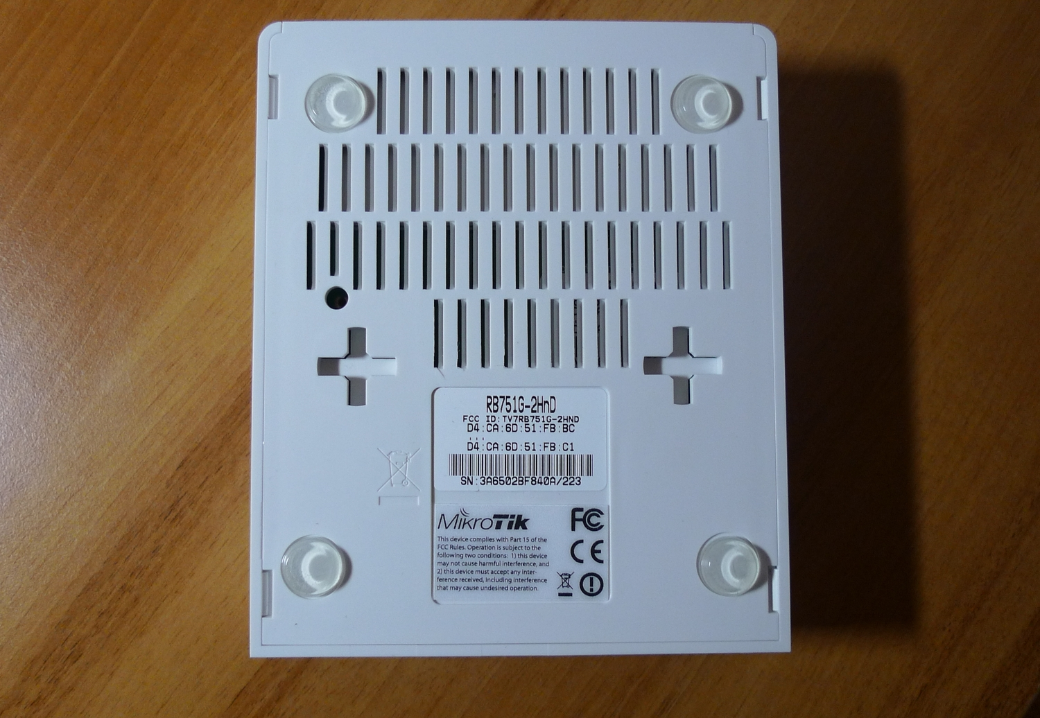 mikrotik routerboard rb751g-2hnd